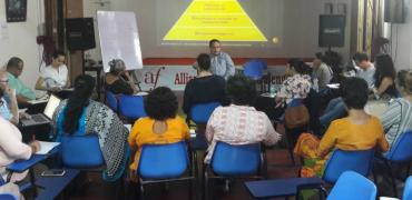 Succès de la première session des Clés en Inde _ Sept 2016