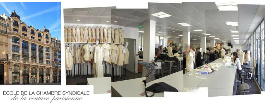 Venez tudier l cole de la chambre syndicale de la - Chambre syndicale de la haute couture parisienne ...
