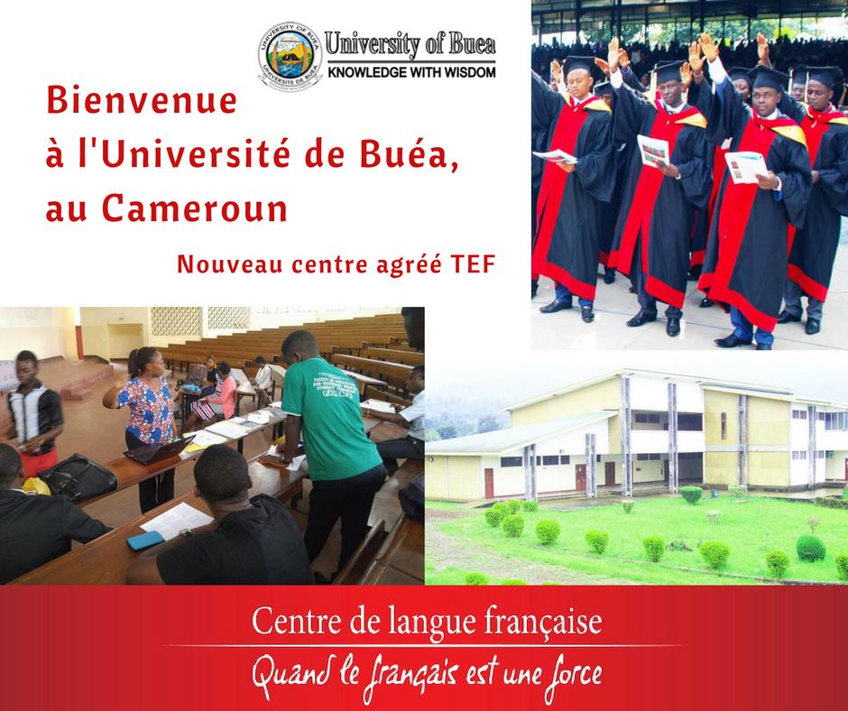 L'université de Buéa, nouveau centre agréé
