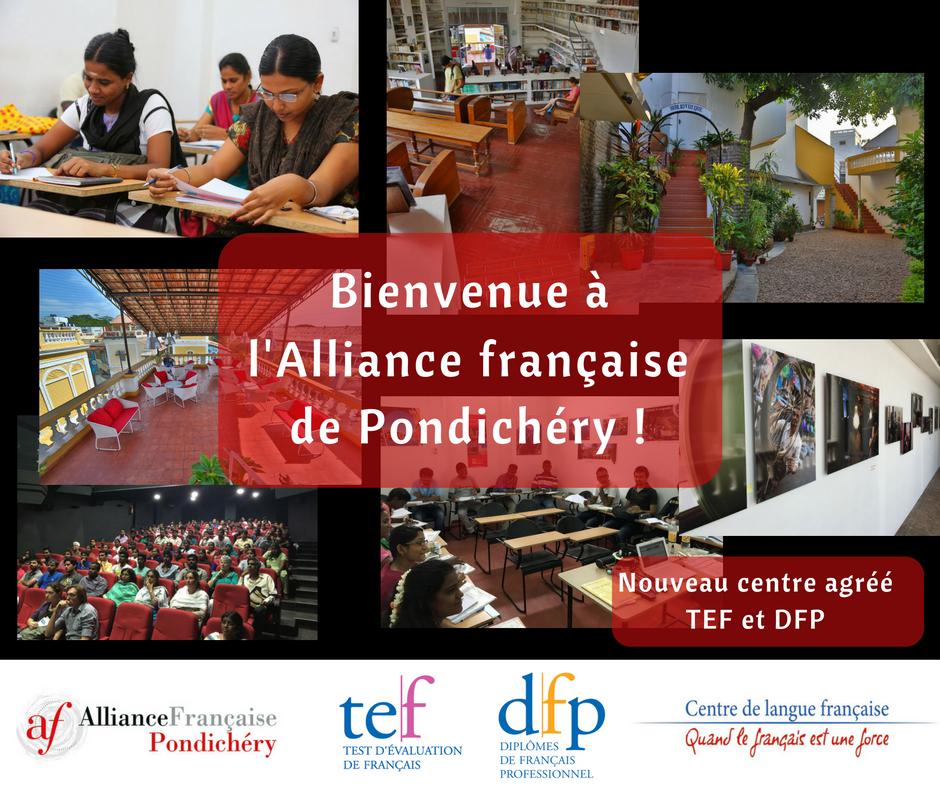 L'Alliance française de Pondichéry
