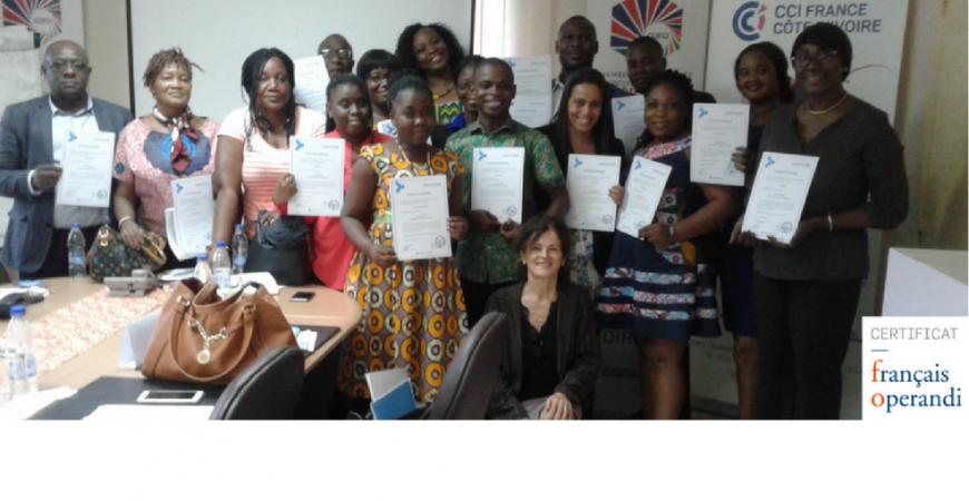 Succès de la formation Français operandi en Côte d'Ivoire