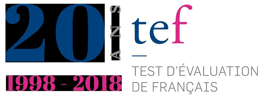 Logo 20 ans du TEF