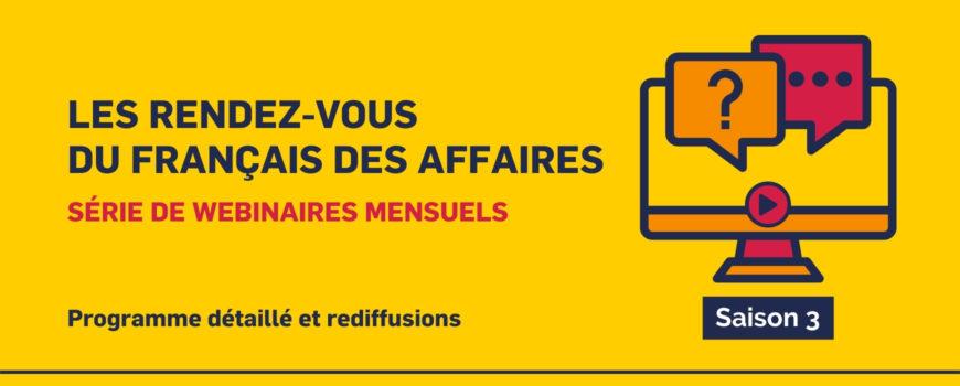 Les rendez-vous du français des affaires 3